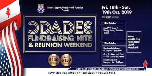 Presec-Odadee North America Chapter Fundraising Nite (Couples Tickets)