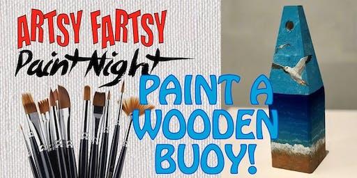 Paint A Wooden Buoy