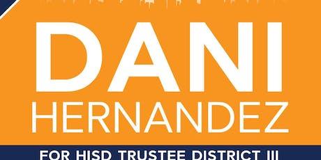 Dani's Campaign Reception tickets