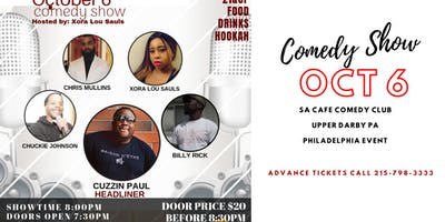 Live Vice Comedy Sunday October 6