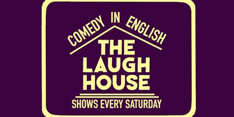 The Laugh House English Comedy Show Oct 19th tickets