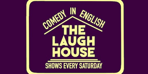 The Laugh House English Comedy Show Oct 19th