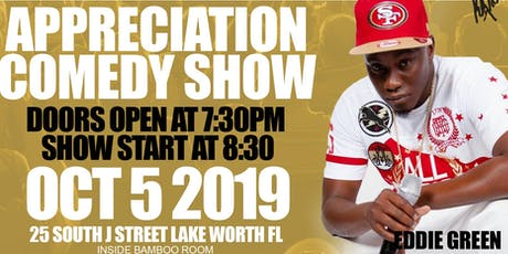BookEddieGreen& Infinty Tax & Beyond Appreciation Comedy Show   tickets