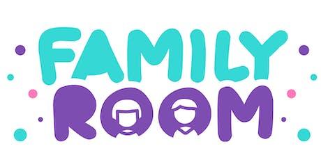 Lanzamiento de Family Room cartelera de eventos para todas las familias  entradas