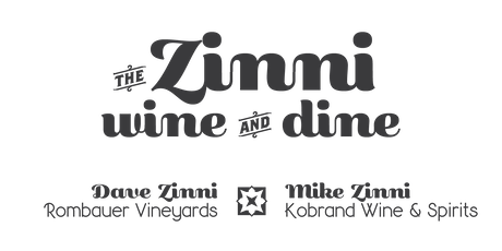 the ZINNI WINE and DINE tickets