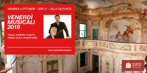 I Venerdì Musicali in Villa Da Ponte - 4 Ottobre: Duo Flauto e Pianoforte