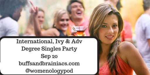 International, Ivy & Adv Degree  Singles Mixer