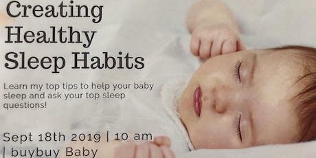 Sleep Talk- with Sound Sleep Consulting tickets