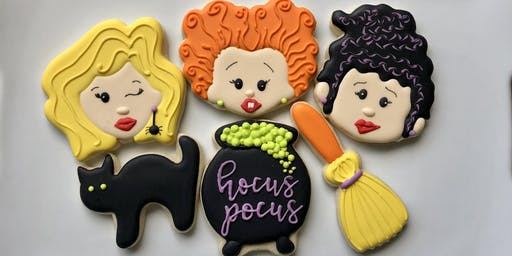 Hocus Pocus Cookie Decorating Class