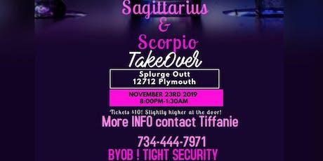 The Merger Sagittarius/Scorpio Takeover tickets