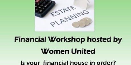 Estate Planning Financial Workshop  tickets