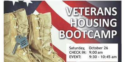 VETERANS HOUSING BOOTCAMP, Oct 26, 2019