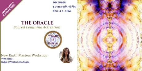 THE ORACLE, Sacred Feminine Activation tickets