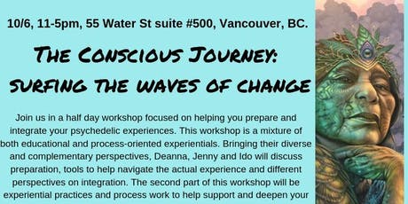 The Conscious Journey: riding the waves of change tickets