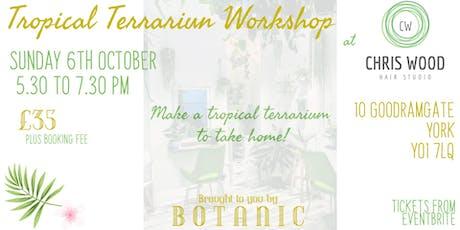 Tropical Terrarium Workshop tickets