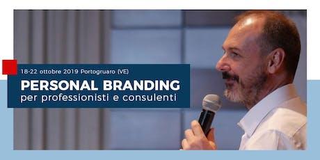 Personal Branding: per professionisti e consulenti - Portogruaro (VE) biglietti