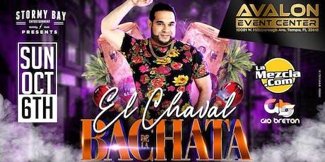 El Chaval De La Bachata En Tampa! tickets