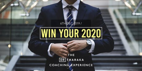 The Dr T Coaching Experience: Win Your 2020 tickets