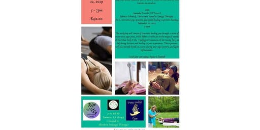 Fall Equinox Restorative Yoga With Sound Therapy