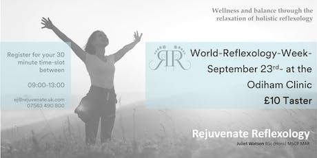 World Reflexology Week - Odiham - 23rd September tickets