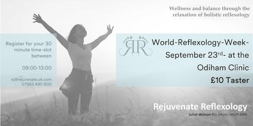 World Reflexology Week - Odiham - 23rd September