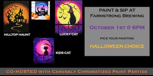 Halloween Paint & Sip @ Farmstrong Brewing