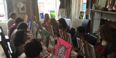 Painting and Prosecco  Party
