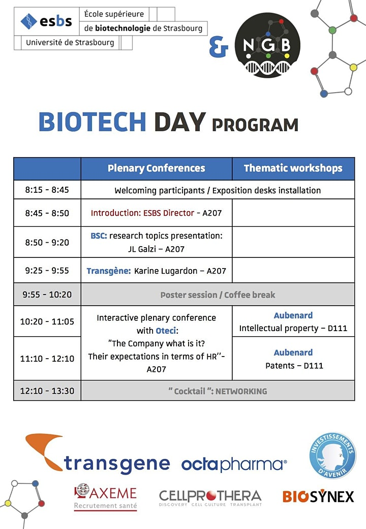 Image pour BIOTECH DAY