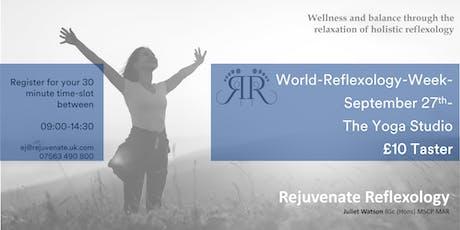 World Reflexology Week - Hartley Wintney - 27th September tickets