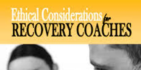 CCAR Ethical Considerations for Recovery Coaches Hosted by SOS. Rochester FALL 2019 tickets