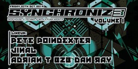 Synchroniz3 Volume 1 tickets