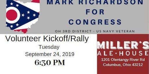 Richardson For Congress Volunteer KickoffRally