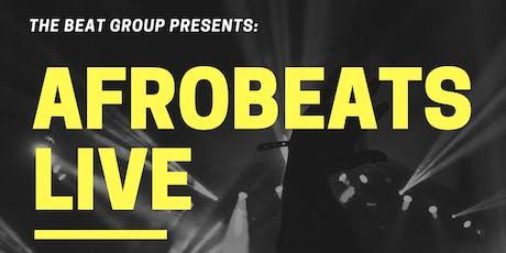 Afrobeats Live tickets