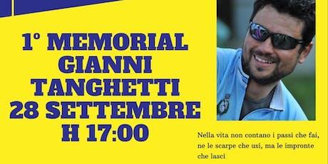 1° Memorial Gianni Tanghetti biglietti