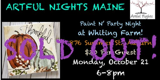 Paint N' Party at Whiting Farm