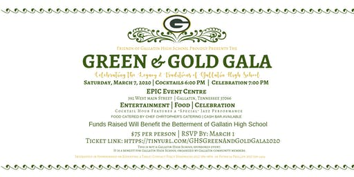 GHS Green and Gold Gala 2020