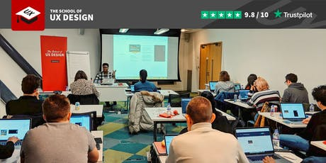 User Experience design 5-day course with career advice by professional designer tickets
