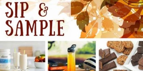 Fall Back Into Health Sip and Sample tickets