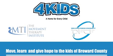 Movement Optimization Class to support 4Kids.org tickets