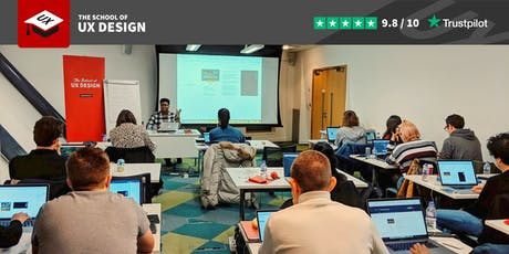 User Experience and User Interface Design 5-day course with portfolio advice tickets