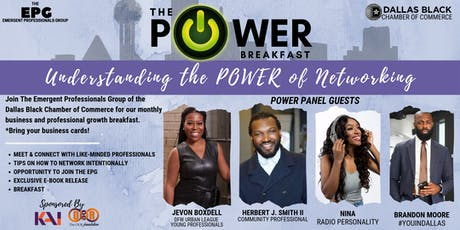 The POWER Breakfast: Understanding the Power of Networking. tickets