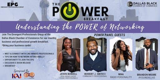 The POWER Breakfast: Understanding the Power of Networking.