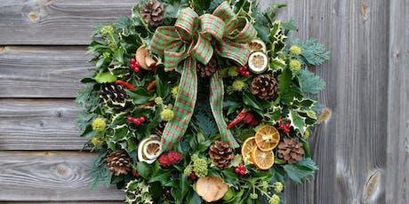 Christmas Wreath Workshop, Dobbies, Barlborough. Second workshop. tickets