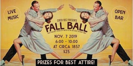 Circa 1857's Fall Ball tickets