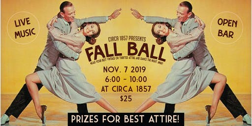 Circa 1857's Fall Ball