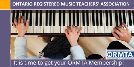 ORMTA - Meet and Greet - a must for all music teachers tickets