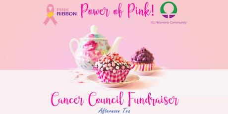 ECU Women's Community Afternoon Tea Cancer Council Fundraiser tickets