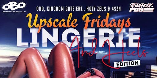Upscale Friday's Lingerie and Heels Party  at Tiger Tiger lounge