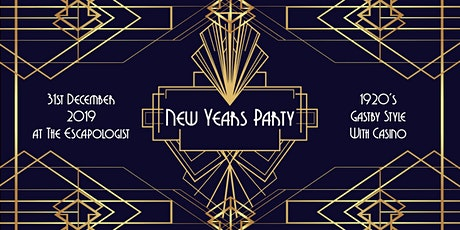1920's New Year party tickets