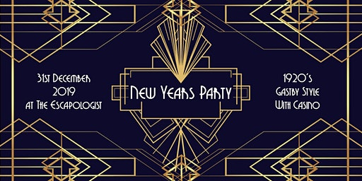 1920's New Year party